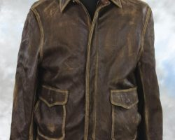 Harrison Ford leather jacket from Indiana Jones