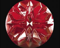 """Giant """"palm crystal"""" set piece from Logans Run"""