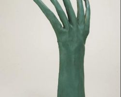 Rodian hand from the original Star Wars trilogy films