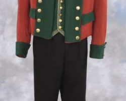 Complete British Dragoon uniform from The Patriot