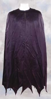 Adam Wests personal hero Batman cape worn in Batman