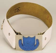 Erin Gray belt, armband and patch – Buck Rogers