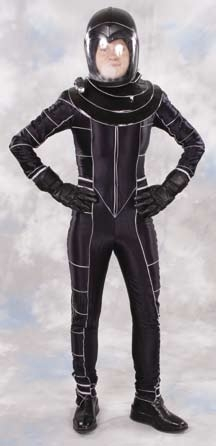 Claudia Black Peacekeeper spacesuit from Farscape