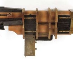 Charrid dune buggy blaster from Farscape