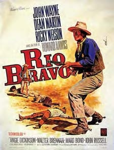 John Wayne western ensemble from Rio Bravo