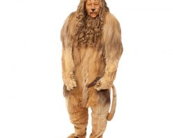 """Bert Lahr screen-worn """"Cowardly Lion"""" costume from The Wizard of Oz"""