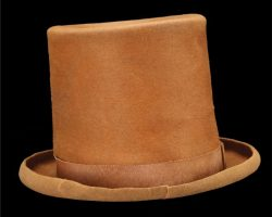 "Gene Wilder signature ""Willy Wonka"" hat from Willy Wonka and the Chocolate Factory"
