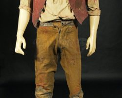 Gangs of New York Bill The Butcher Daniel Day Lewis Bloody Finale Costume
