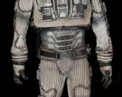 """Complete Michael Clarke Duncan """"Bear"""" Astronaut Suit And Charging Station"""