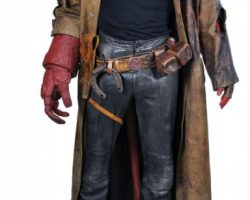 Hellboy Full Costume With Hero Components
