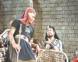 Prop short spear from The Ten Commandments