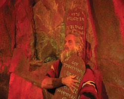 Charlton Heston Ten Commandments Tablets