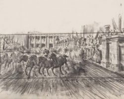 Archive of original Ben-Hur concept artwork