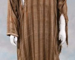 Charlton Heston distressed kaftan from Ben-Hur
