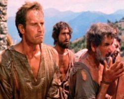 Charlton Heston distressed kaftan from Ben-Hur