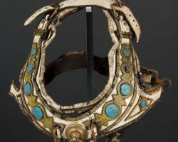 Charlton Heston chariot horse harness from Ben-Hur