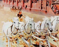 Charlton Heston chariot horse harness from Ben-Hur