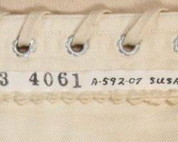 Susan Hayward period corset worn in Rawhide