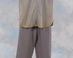 Robert Dix tunic and pants from Forbidden Planet