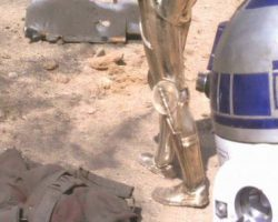 C-3PO feet from Star Wars: A New Hope
