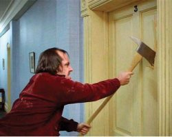 Jack Nicholson prop axe from The Shining