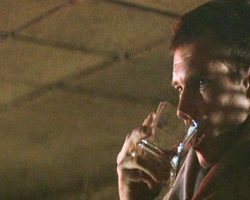 Harrison Ford square scotch glass – Blade Runner