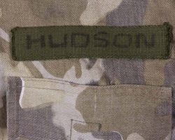 Bill Paxton camouflage fatigues from Aliens