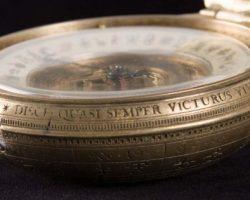 Alethiometer prop w/ open case – Golden Compass