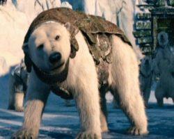 Iorek armored bear maquette – The Golden Compass