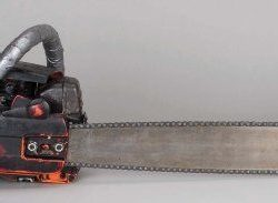 Leatherface chainsaw from Texas Chainsaw Massacre