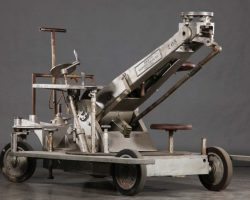 Complete rolling camera dolly used for filming Star Wars