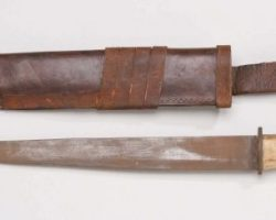 Christian Slater prop stunt knife from Robin Hood