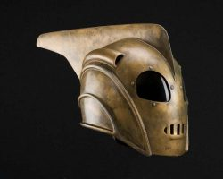 Bill Campbell hero Rocketeer helmet The Rocketeer