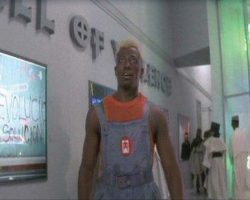 Stallone & Snipes costumes from Demolition Man