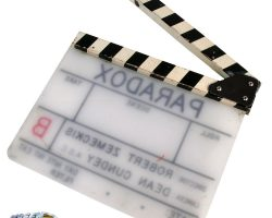 """""""Paradox"""" clapperboard from Back to the Future II"""