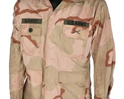 "Tom Sizemore ""McKnight"" U.S. Army camouflage jacket from Black Hawk Down"