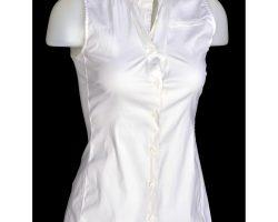 "Jennifer Aniston ""Nicole Hurley"" sleeveless blouse from The Bounty Hunter"