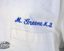 "Anthony Edwards ""Dr. Mark Greene"" medical coat from ER"