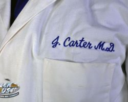 "Noah Wyle ""Dr. John Carter"" medical coat and shirt from ER"