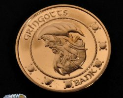Gringotts coin from Harry Potter and the Sorcerer's Stone