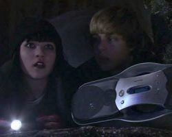 Screen-used modified Sony cassette player from in The Haunting Hour: Don't Think About It