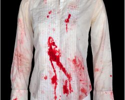 "Lauren German ""Beth"" bloody shirt from Hostel: Part II"
