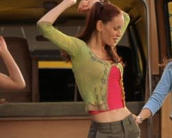 """Eliza Dushku """"Sissy"""" costume from Jay and Silent Bob Strike Back"""