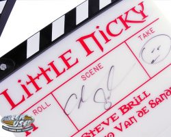 Adam Sandler autographed clapperboard from Little Nicky