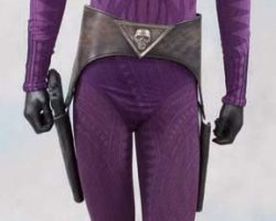 Billy Zane The Phantom costume with jade skull