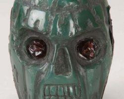 Billy Zane The Phantom costume with jade skull