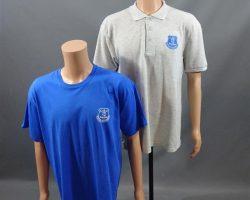 CREED SCREEN WORN EVERTON FOOTBALL CLUB SHIRT SET (XL/2X)