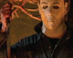 Michael Myers stunt knife Halloween: Resurrection