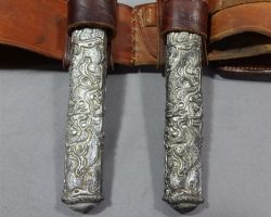 MAGNIFICENT 7 BILLY ROCKS BYUNGHUN LEE SCREEN USED HOLSTER BELT W/ DAGGER KNIFE