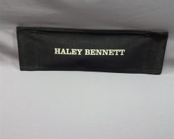 MAGNIFICENT 7 EMMA CULLEN HALEY BENNETT PRODUCTION USED DIRECTOR'S CHAIR BACK